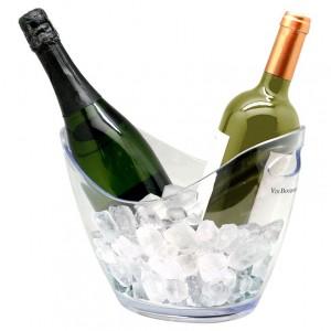 Ведро для шампанского пласт 3 л для 2-х бутылок VB