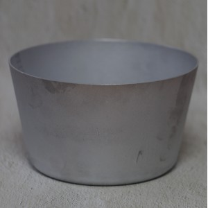 Форма для выпечки куличей и хлеба 2мм, 2,5 л литой аллюм 2189