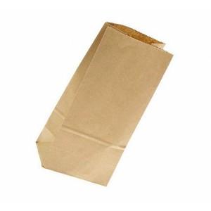 Упаковка Пакет бумажный 22*8*2 см крафт 1 шт 108-014