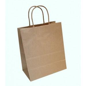 Упаковка пакет бумажный 310*190*340 прямоуг дно с кр ручкой