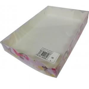 Упаковка для печенья и пряников С Праздником 220*150*35 мм 080449