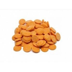 Глазурь кондитерская Мастер Мартини вкус апельсин диски 0,250 кг Италия 4056