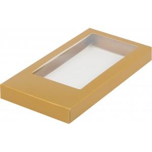 Упаковка для шоколадной плитки крафт 180*90*17 мм 060715