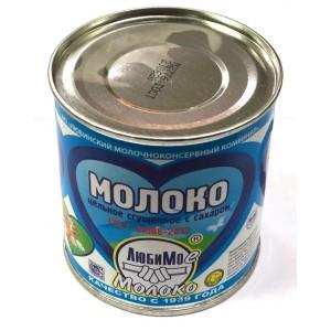 Молоко сгущеное 8,5% (ж/б) ЛЮБИМОЕ ГОСТ 380гр