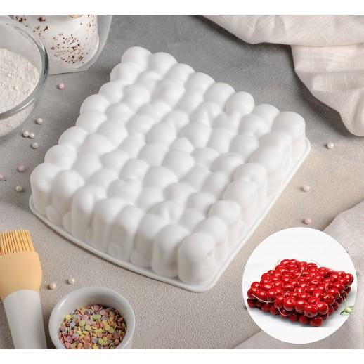 Форма силиконовая для выпечки и муссов 18,5*4,5см Пузыри 3624948, Pavoni, Silikomart силикомарт формы для муссовых тортов силиконовые