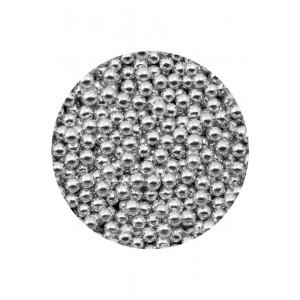 Шарики сахарные серебряные 5 мм 100 гр