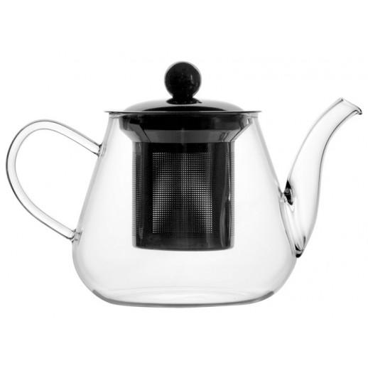 Чайник 400 мл с фильтром термостойкое стекло 1969, Чайники