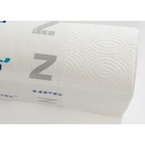 Полотенца листовые Z 1-слойные белые 200 л НРБ-Барская 20/уп 25Z117/25Z112