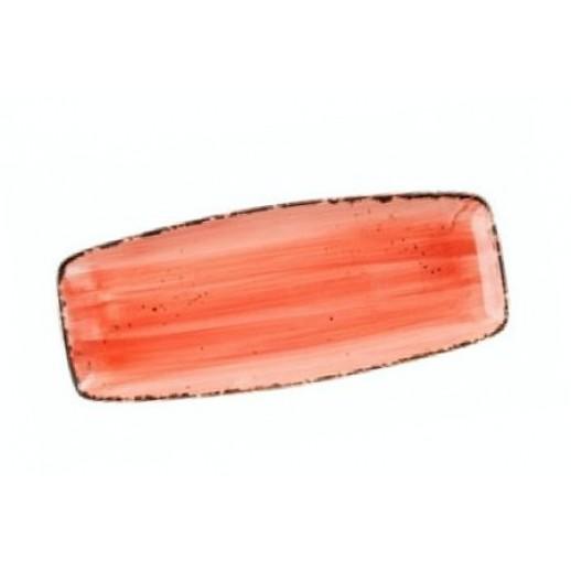Блюдо прямоугольное 31*12,5 см Organica Spicy Fusion PL 81223094, Фарфоровая посуда KUNST WERK P. L.