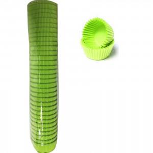 Капсула бумаж кругл №7 зеленая 500 шт 66210