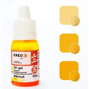 КРЕДА Краситель жирорастворимый гелевый желтый 10 мл Россия