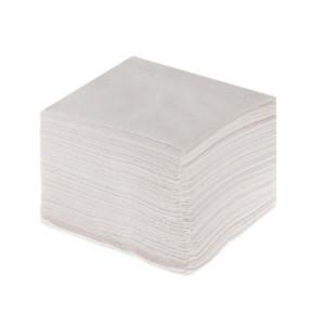 Салфетки бумажные белые целлюлозные 100