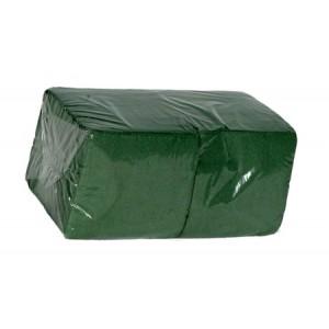 Салфетки бумажные ОРП 24*24 400 л, зеленые (15/1)