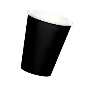 Стакан одноразовый для кофе ЧЕРНЫЙ 400 мл 50 шт