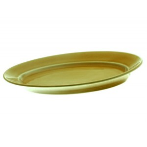 Блюдце АКВАРЕЛЬ золотисто-коричневый 14,5 см Принц несорт ИБЛ 03.145