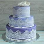 Айсинг - ажурные детали для торта