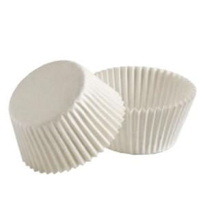 Капсула бумаж круглая белая 3,5*2 см 100шт 7852
