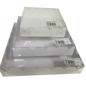 Упаковка для печенья и пряников БЕЛАЯ 120*120*30 мм 080400