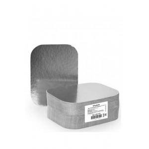 Крышка для алюмин формы 402-675 серебро/картон 14,5-11,9 см 100 шт 402-706