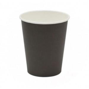 Стакан одноразовый для кофе ЧЕРНЫЙ 250 мл 50 шт