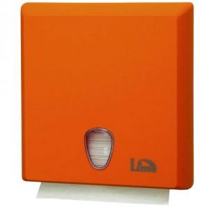 Диспенсер для Z полотенец Lime COLOR оранжевый 70610EAS