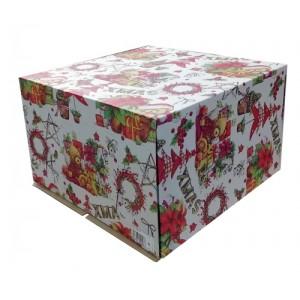 Короб картонный 300*300*190 XMAS 028300