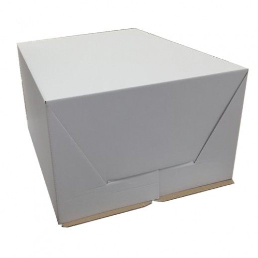 Короб картонный БЕЛЫЙ 300*400*200 мм 020100, Тортницы, коробки для торта и пирожных