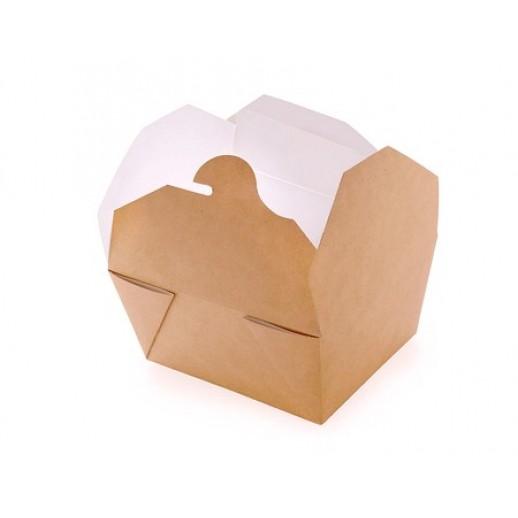 Упаковка ECO FOLD BOX 600 130*105*65 мм, Картонная упаковка, бумажные крафт пакеты