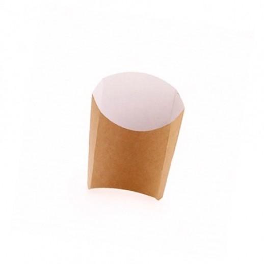 Упаковка ECO FRY М 120*100*50, Картонная упаковка, бумажные крафт пакеты