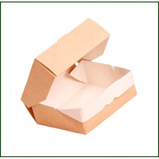 Упаковка ECO TABOX 300 100*80*35 мм, Картонная упаковка, бумажные крафт пакеты