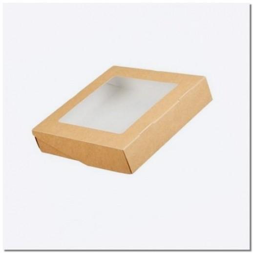 Упаковка ECO TABOX PRO 1555 205*205*55 мм, Картонная упаковка, бумажные крафт пакеты