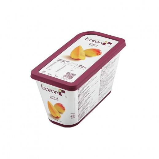 Пюре манго 100% заморож Boiron 1кг 12274, Кондитерские ингредиенты