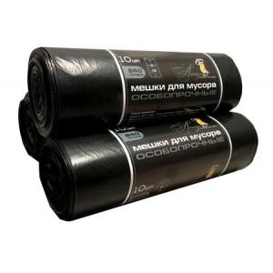Мешок для мусора 240 л 130*85 см 35 мкм 10 шт