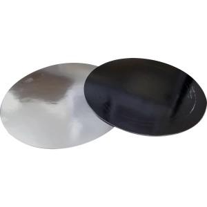 Подложка усилен черная/серебро 280мм (толщ1,5мм)