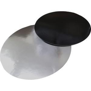 Подложка усилен черная/серебро 300мм (толщ1,5мм)