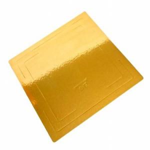 Подложка золото/золото квадрат 70*70 0,8 мм 100 шт