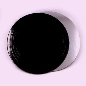 Подложка усилен черная/серебро 220мм (толщ1,5мм)
