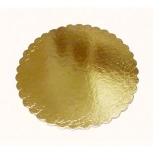 Подложка усилен золото/розовая ажур 280 мм (толщ 3,2)