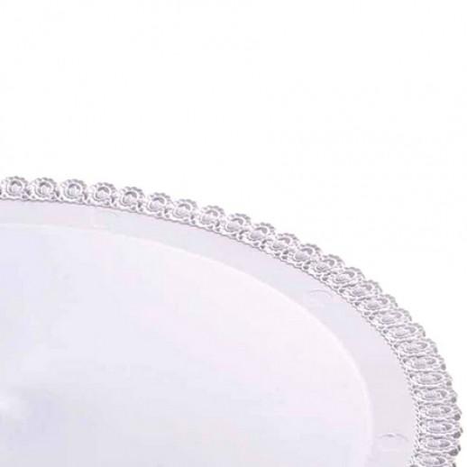 Поднос пластиковый круглый 35 см 36276, Подложки и подносы для тортов