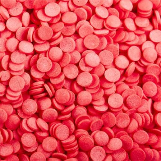Посыпка Ромбики красные 100 гр 62981, Украшения для торта, кондитерские посыпки