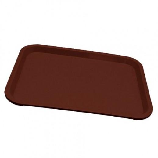 Поднос 45*35,5 темно-коричневый, Противни для духовки, подносы для столовой