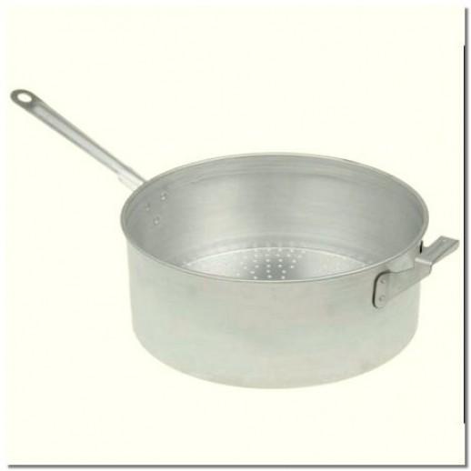 Дуршлаг сотейник алюмин 7 л МП-08 Эрг-АЛ, Кастрюли и сковороды