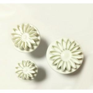 Штамп для пончиков Цветок d 8,4 h 6,2 см пластик 49466