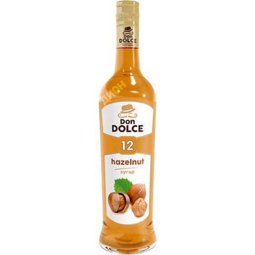 Сироп Дон Дольче Фундук 0,7 л Россия, Сиропы для коктейлей, вишни, чай, кофе