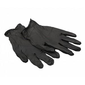 Перчатки нитриловые ЧЕРНЫЕ 200 шт/100 пар без напыления
