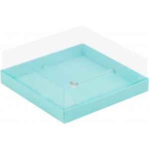Упаковка для пирожных пластик крышка 170*170*60 тиффани 070513