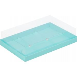 Упаковка для пирожных пластик крышка 260*170*60 тиффани 070503