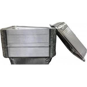 Форма алюминий 210*170/148*104 мм h 38 мм 780 мл 50 шт 402-707